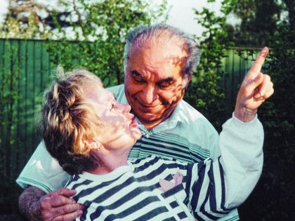 Надежда Румянцева с мужем Вилли Хштояном // архив редакции