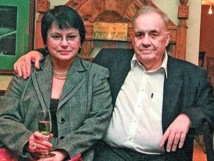 Ольга и Эльдар Рязановы // Личный архив семьи Рязановых