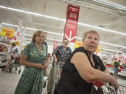 Покупатели в супермаркете // Global Look