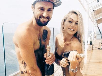 Анна Хилькевич с женихом Артуром // Instagram актрисы