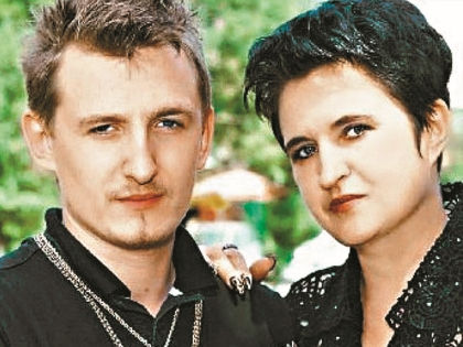 Влад Кадони со своей мамой // архив редакции