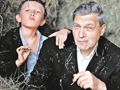 Александр Невзоров с сыном – Александром Невзоровым-младшим // Лидия Невзорова