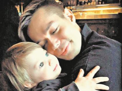 Стас Пьеха с сыном // Instagram Стаса Пьехи