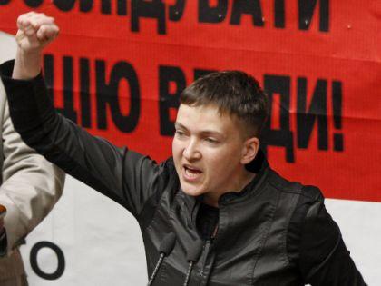 Надежда Савченко в Раде // Serg Glovny / Global Look Press