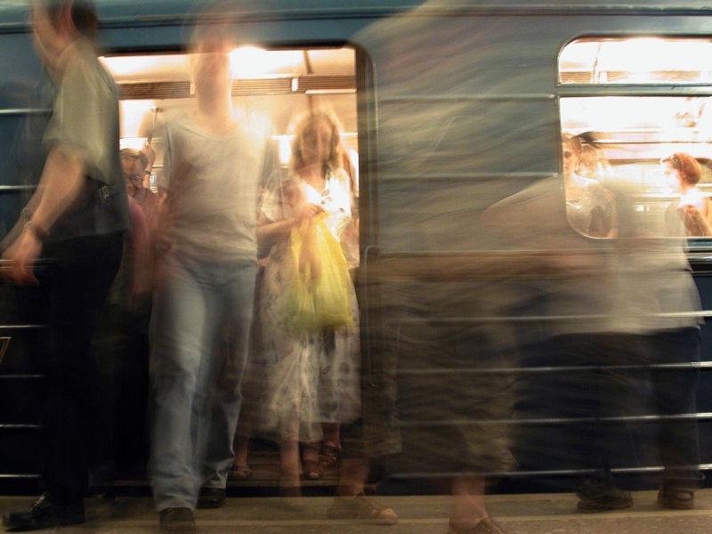 В московском метро мужчина получил травмы // Aleksandr Schemlyaev / Russian Look