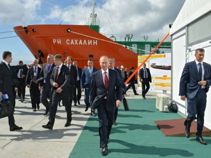 Владимир Путин на Сахалине // Global Look Press