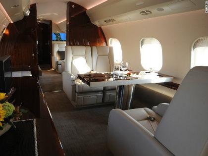 Интерьер самолета, аналогичного «сечинскому» // Planefinder