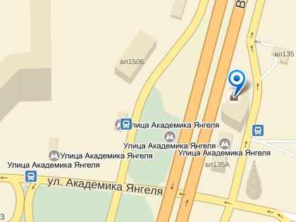 25 января в указанный магазин вблизи станции метро «Улица Академика Янгеля» ворвались двое бандитов // Яндекс.Карты