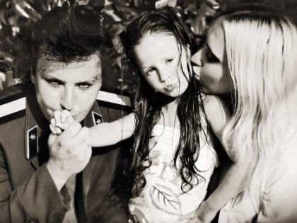Витас с женой и дочерью // личный архив певца