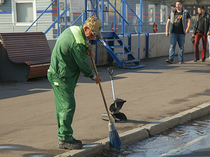 Мужчина подстрелил дворника из ружья // Сергей Ковалев / Global Look Press