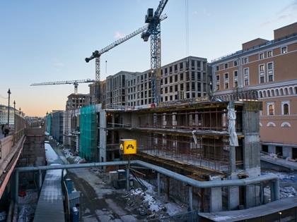Губернатор выразил надежду, что новый инвестор сможет реализовать проект и дома будут готовы в 2018 году // Сергей Смирнов / Global Look Press