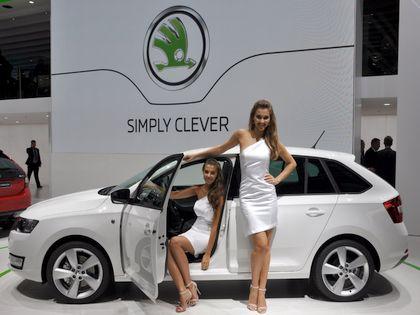 Новую модель Rapid покажут на Женевском автосалоне // Global Look Press