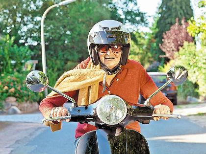 скутер для пенсионеров // Shutterstock