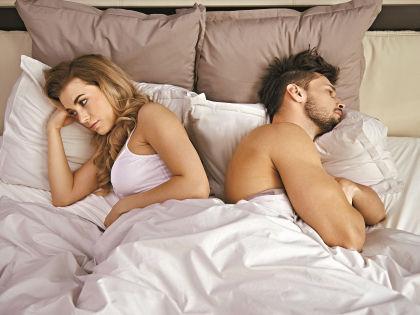 Неожиданный разлад в сексуальной жизни супругов может разрушить брак // Shutterstock