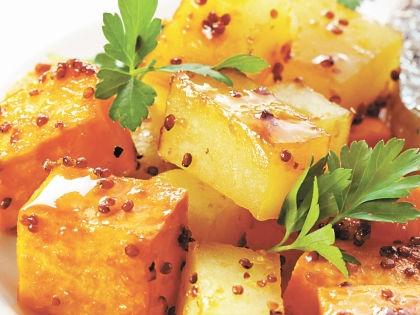 Глазированный картофель // Shutterstock