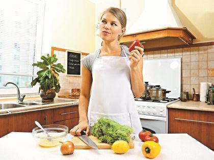 На здоровое питание придется тратить чуть больше свободного времени // Shutterstock
