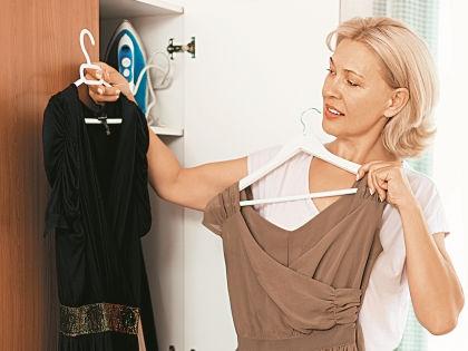 Неудачный наряд может сделать из 40-летней женщины 50-летнюю // Shutterstock