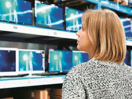 Выбор телевизора – задача непростая // Shutterstock