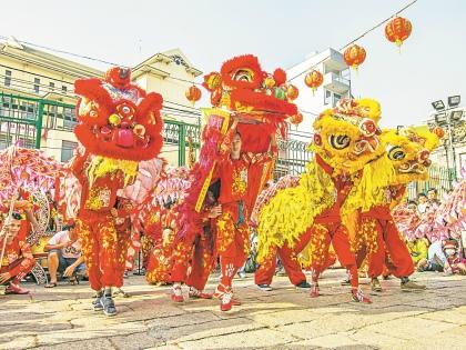 Китайский Новый год // из личного архива