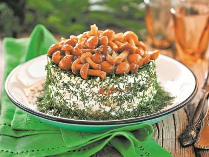 Салат грибной // Shutterstock