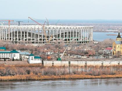 Другого места, кроме как на Стрелке, стадиону не нашлось // Shutterstock