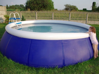 Надувной бассейн // Shutterstock