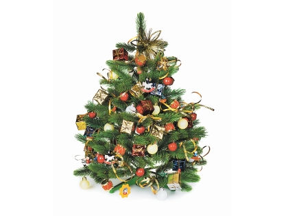 Классическая новогодняя елка // Shutterstock