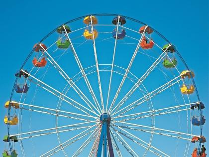 «Парки Самары» объявили о тендере на покупку 50-метрового колеса обозрения // Shutterstock