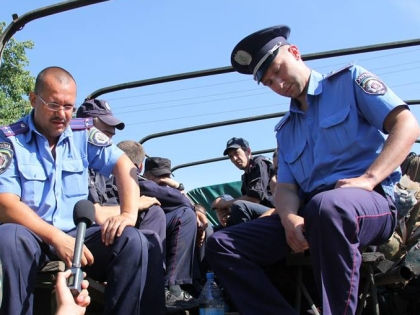 Украинские силовики // Пресс-центр АТО