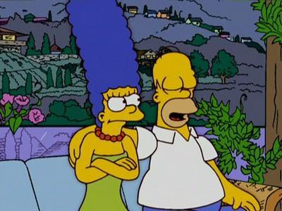 Мардж и Гомер разойдутся в новых сериях // Кадр из мультсериала «Симпсоны»