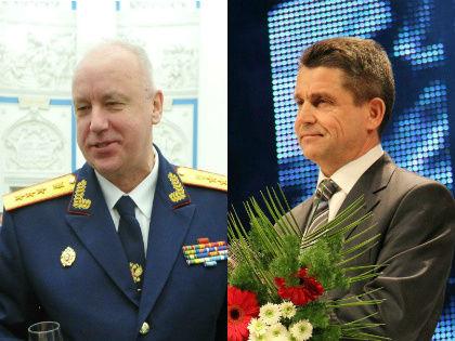 Александр Бастрыкин и Владимир Маркин // Global Look Press