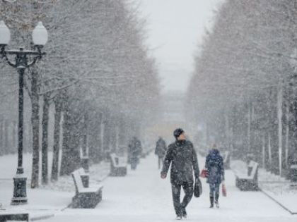 """В московском регионе в начале следующей недели ожидаются """"снежные заряды"""" // Anton Belitsky/Global Look Press"""