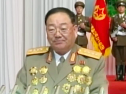 Министр Хён Ён Чхоль был расстрелен из зенитного орудия в военном училище в Пхеньяне //  Стоп кадр с YouTube