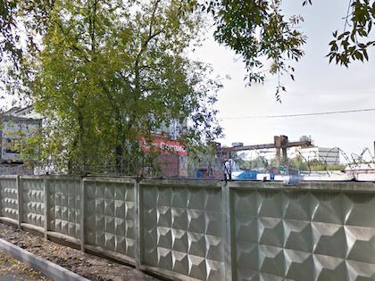 Пожар вспыхнул в автосервисе в Ярославском районе Москвы //  Google View Maps