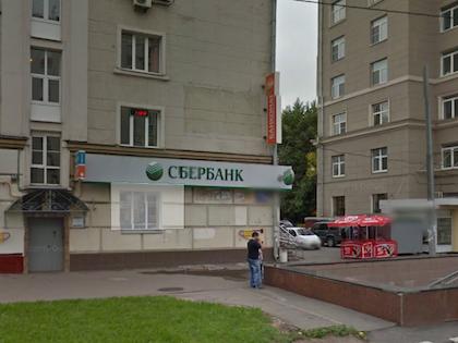 25 сентября появилась информация об ограблении банка, который находится на шоссе Энтузиастов, дом 22/18 //  Google Maps View