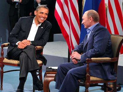 Владимир Путин и Барак Обама //  Официальный сайт президента РФ