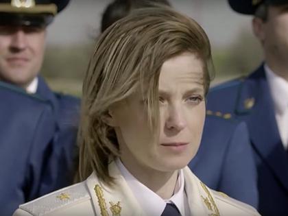 Наталья Поклонская // стоп-кадр из клипа Натальи Поклонской
