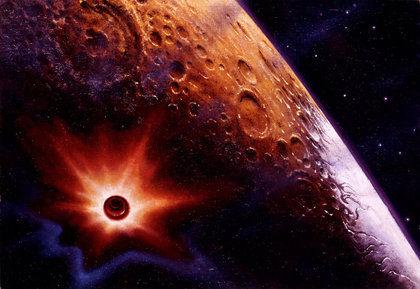 Луну уничтожит белый карлик, в которого превратится Солнце // Global Look Press