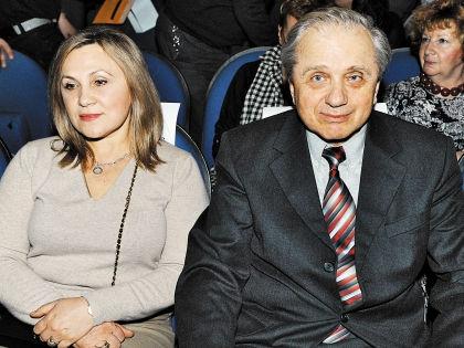 Евгений Стеблов со второй женой Любой // Андрей Струнин / «Собеседник»