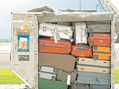 Из-за теракта в Египте багаж российских туристов доставляют на родину отдельным от пассажиров рейсом // Shutterstock