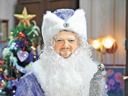 «Роль Деда Мороза позволила мне полностью закрыть гештальт...» // пресс-служба телеканала СТС