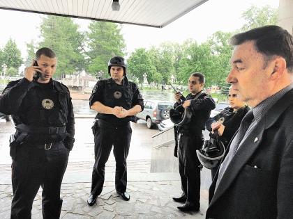 Ступинского активиста всегда встречают с особыми почестями // из личного архива