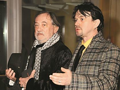 Богдан Ступка с сыном // Геннадий Усоев
