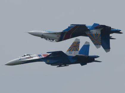 Российский истребитель перехватил американский разведчик в небе над Балтикой // Olga Sokolova/Global Look Press