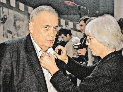 Эльдар Рязанов с супругой // Global Look Press