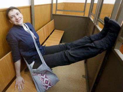 Надежда Савченко вернулась на Украину после решения о помиловании // Валерий Матыцин / ТАСС