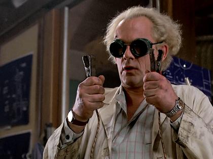 Британские ученые, рассуждающие о пользе или вреде кофе, давно стали именем нарицательным // Кадр из фильма «Назад в будущее»