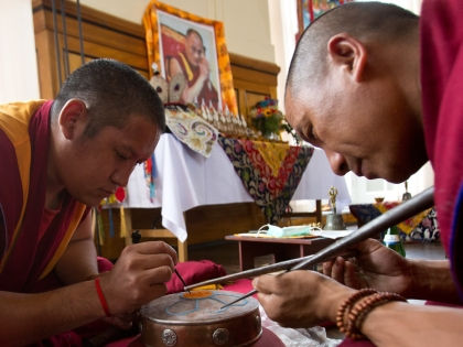 Тибетские монахи // Global Look Press
