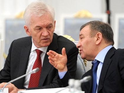 Геннадий Тимченко и Борис Ротенберг // kremlin.ru