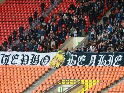 Фанаты «Торпедо» спровоцировали 5 апреля драку на стадионе в Туле во время футбольного матча // Dmitry Golubovich / Russian Look